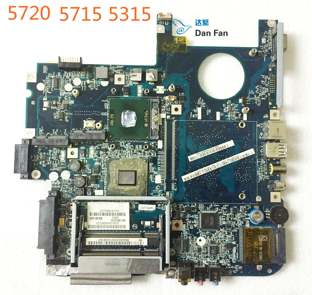 BiNFUL For ACER 7720 5720 5315 5715Z Laptop Motherboard ICL50 LA-3551P MBAHE02001 Mainboard 100%tested Fully Work
