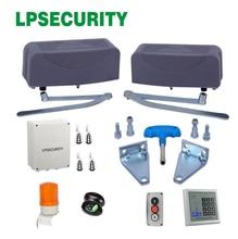 400kg loading per leaf Articulated GSM Automatic Swing Gate openers crank arm swing gate opener hinge type swing gate motor