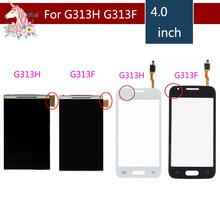 цена на 4.0 For Samsung Galaxy DUOS Ace NXT G313 G313H G313F LCD Display With Touch Screen Digitizer Sensor Replacement