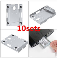 Hard Disk Drive bays Base Tray HDD Mounting Bracket Support for Sony Playstation 3 PS3 PS 3 Super Slim 4000 With Screws 10sets