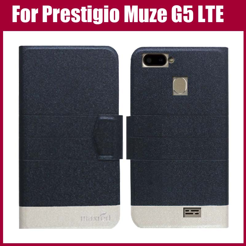 Hot sale! Prestigio Muze G5 LTE Case New Arrival 5 Colors Fashion Luxury Ultra-thin Leather Protective Cover Phone Bag