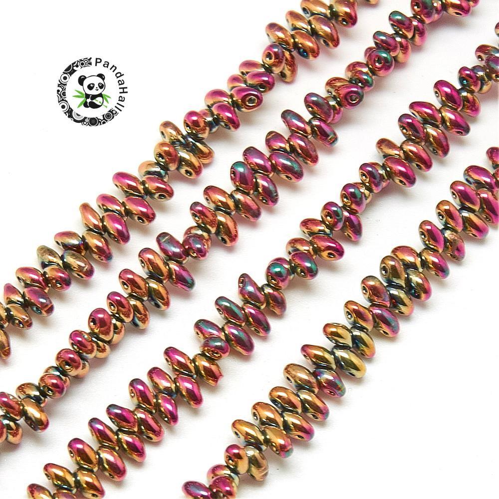 45 Jars LOT  2mm Czech Glass Seed Beads Necklace,Bracelet,Earring Jewelry Crafts
