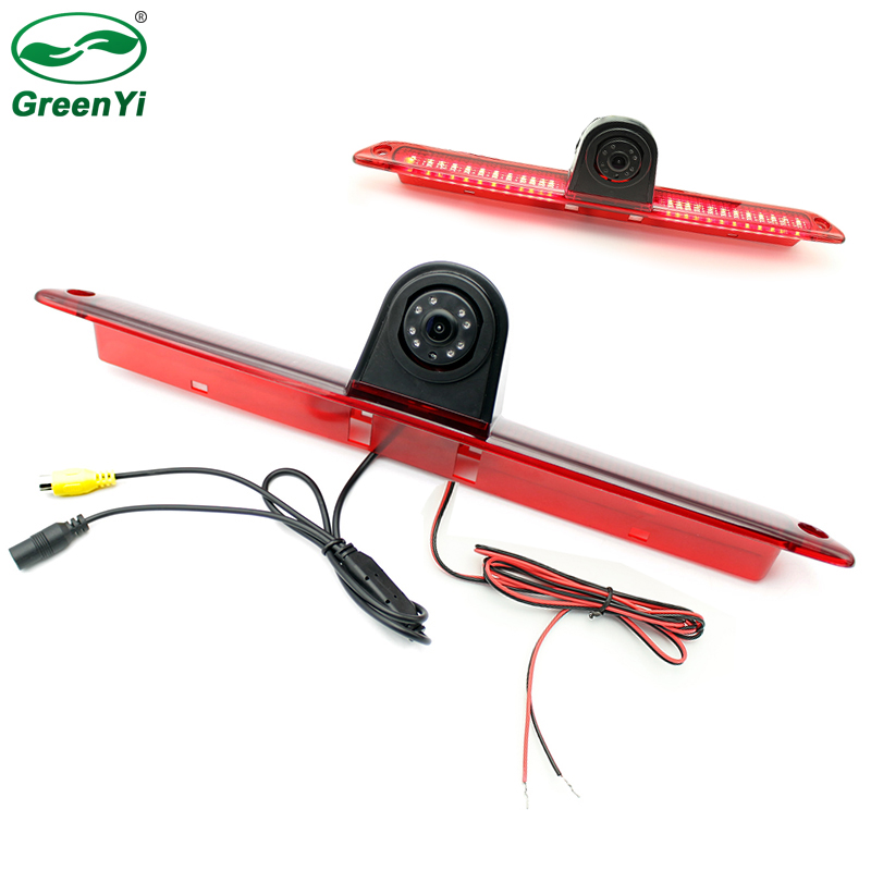 New Car LED Light For Volkswagen VW Crafter Benz W906 Sprinter Vito Brake Light CCD Camera Reverse Backup Rear View Camera-in Vehicle Camera from Automobiles & Motorcycles    1