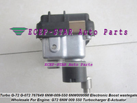 Turbo Electronic Actuator Electric BOOST G 72 G 072 G72 G072 767649 6NW009550 Wastegate For Ford Transit DuraTorq E5 2.2L