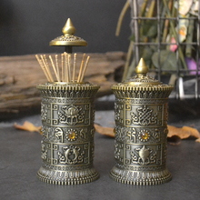 Европейский бронзовый цвет ретро римская колонна драгоценный камень держатель зубочистки металлические резные декоративные зубочистки домашний декор зубочистка YQT042