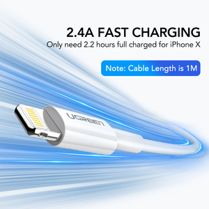 Image 5 - Ugreen 5V2.1A USB Charger MFi USB Cable for iPhone Xs Max XR Mobile Phone Charger for iPhone X 8 7 Wall Phone Charger for ipad