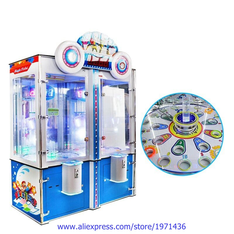 Amusement Equipment Key Master Prize Magic Ticket Redemption Games Token Coin Operated Arcade Game Machine