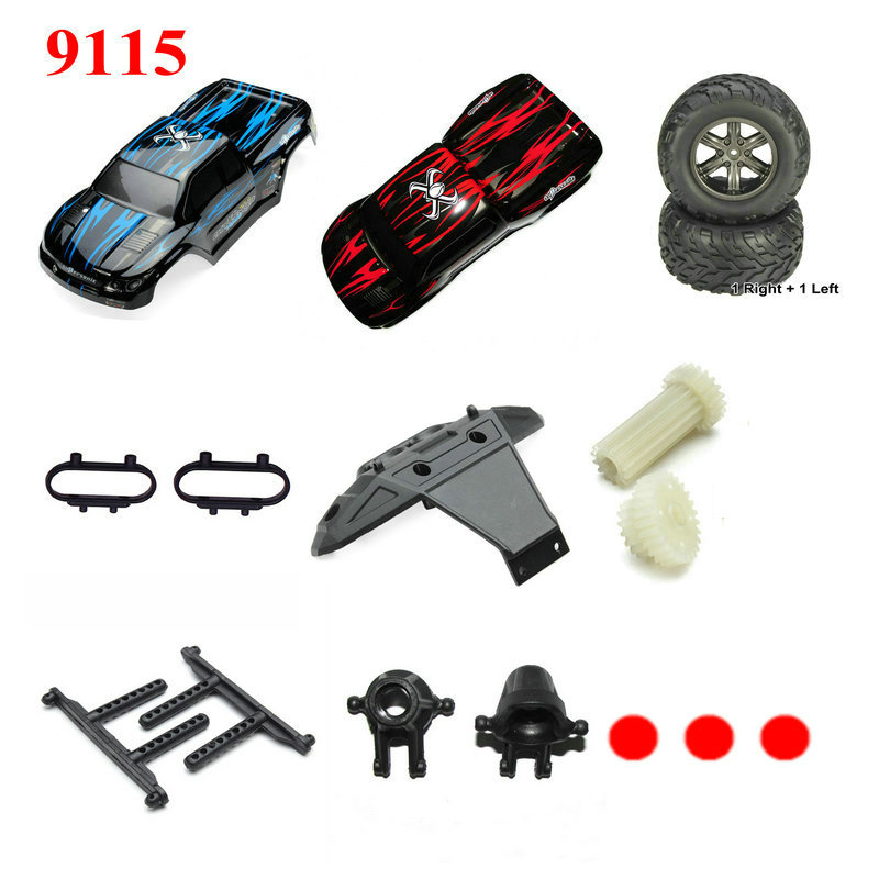 RC Car JY 9115 RC Monster Truck Spare Parts Wheel,Charger,Battery,Transmitter,Receiver,Car Cover Backup Spare Parts 1 hg p401 402 601 1 10 rc car parts 7 4v charger hg cha01