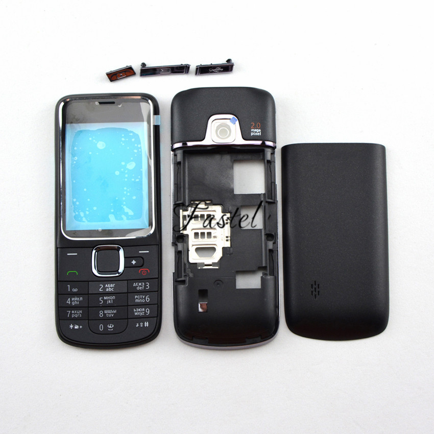 For Nokia 2710 Navigation New Full Complete Mobile Phone housing cover case English or Russian Keypad