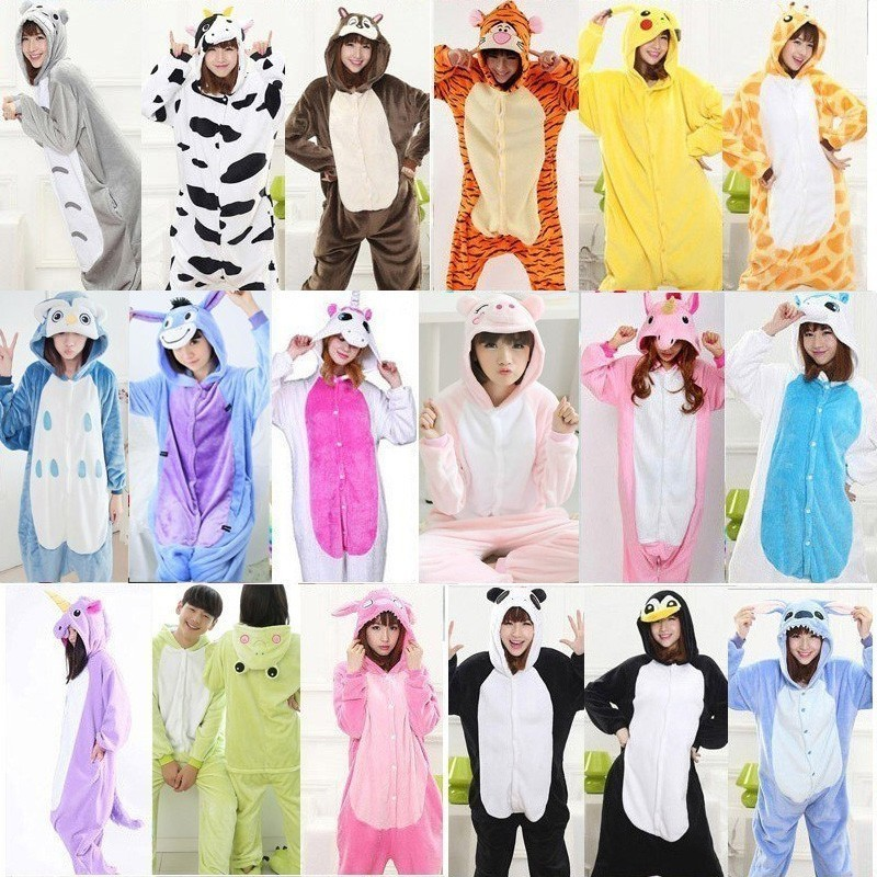 Animal pajamas adult onesie WOMAN Panda onesies for adults pijama de unicornio pikachu Pyjamas stitch sleepwear Full adulto 貓 帳篷