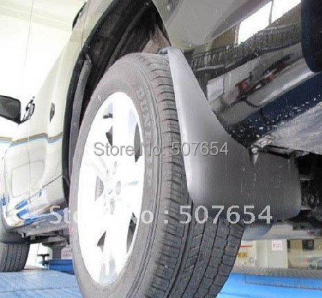 Higher star 4pcs car Mud guards, mudguards, wheel splash guard For Toyota Highlander 2007-2013
