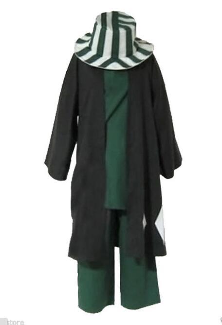 anime Animation Bleach Urahara Kisuke Cosplay costume cloak kimono robe Halloween Japanese costume