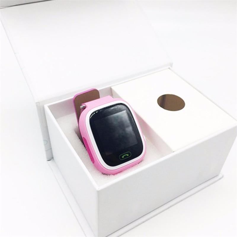 Montre intelligente Q90 pour enfants SOS appel localisation localisateur dispositif Tracker enfants Anti-perte montre-bracelet meilleur cadeau pour les enfants - 6
