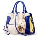 2016 женщины сумку набор сумки через плечо слинг летом кожа кроссбоди бахрома медведь милые дамы люксовый бренд большая роскошь