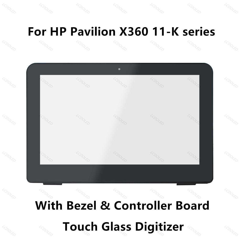Full LCD Display Touch Screen Glass Digitizer Assembly Bezel for HP 11 k001nf 11 k001nl 11