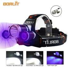 High Power UV Scheinwerfer 5000 Lumen LED Cree XML T6 LED Angeln licht 18650 Wiederaufladbare USB Kopf Lampe Kopf Taschenlampe taschenlampe