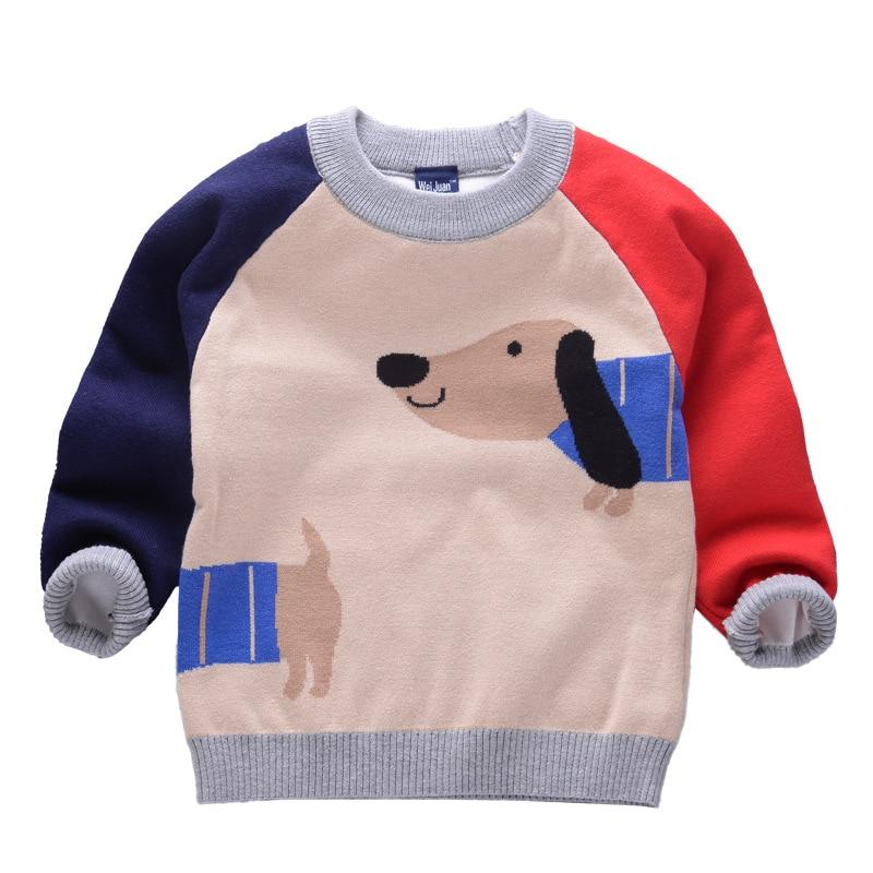 2-7y Jungen Pullover Stricken Pullover Für Baby Kinder Kleidung Tiny Baumwolle 2018 Mode Warme Winter Kinder Mädchen Weihnachten Pullover Guter Geschmack