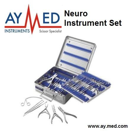 Premium Quality Neuro Instrument Set - Surgical Surgery Scissors свитшот print bar flower birds
