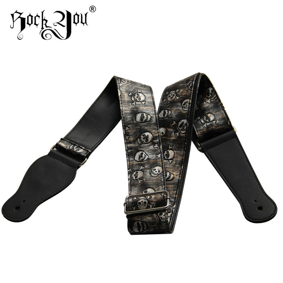 Skull Devil Rock You Guitar Strap Widening Folk Guitar Straps Electric Guitar Strap Electric Bass Strap john constantine hellblazer volume 2 the devil you know