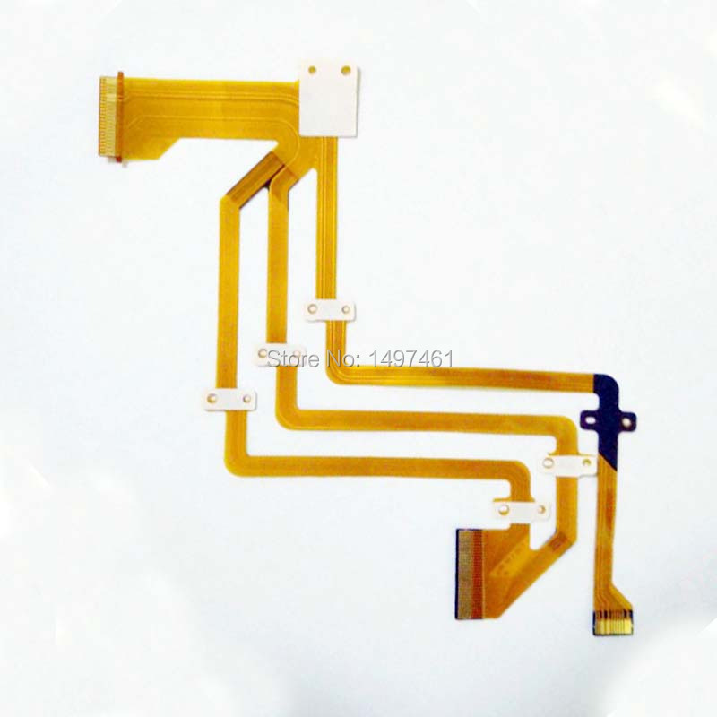 LCD Hinge Rotate Shaft Flex Cable For Sony HDR-PJ5 PJ5 Video Camera