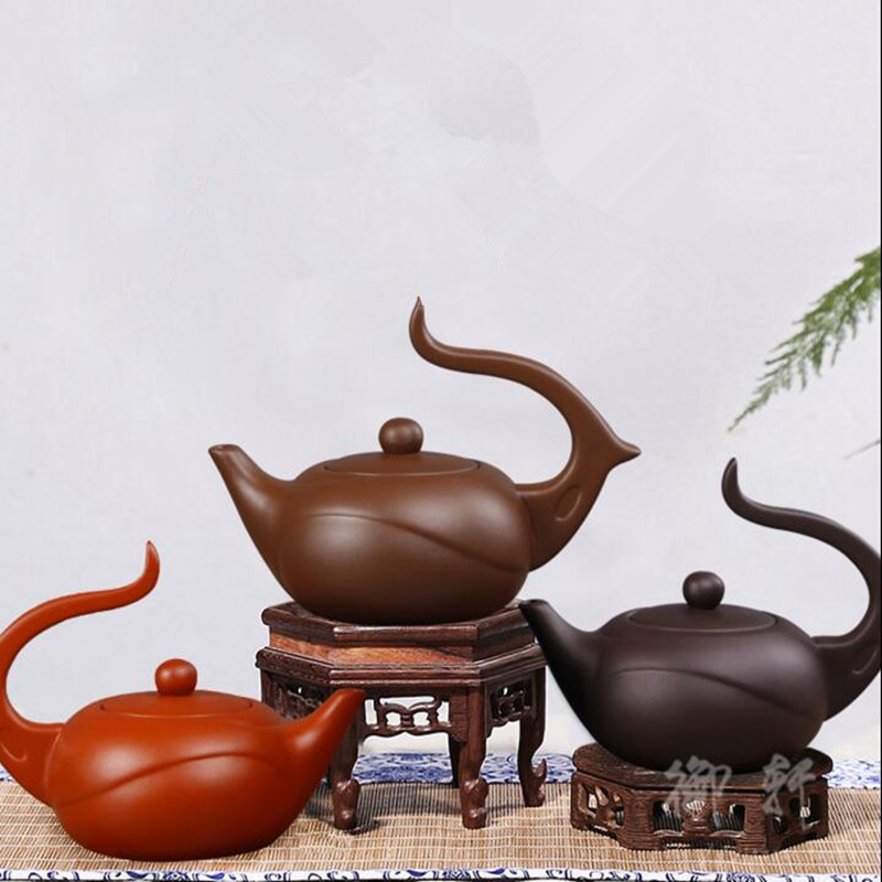 Yixing Genuine Special Teapot Famous Handmade Teapot Tea Set Zhu Mud Modern Art Small Fairy Pot 9 Styles 110/125/150ml tea pot