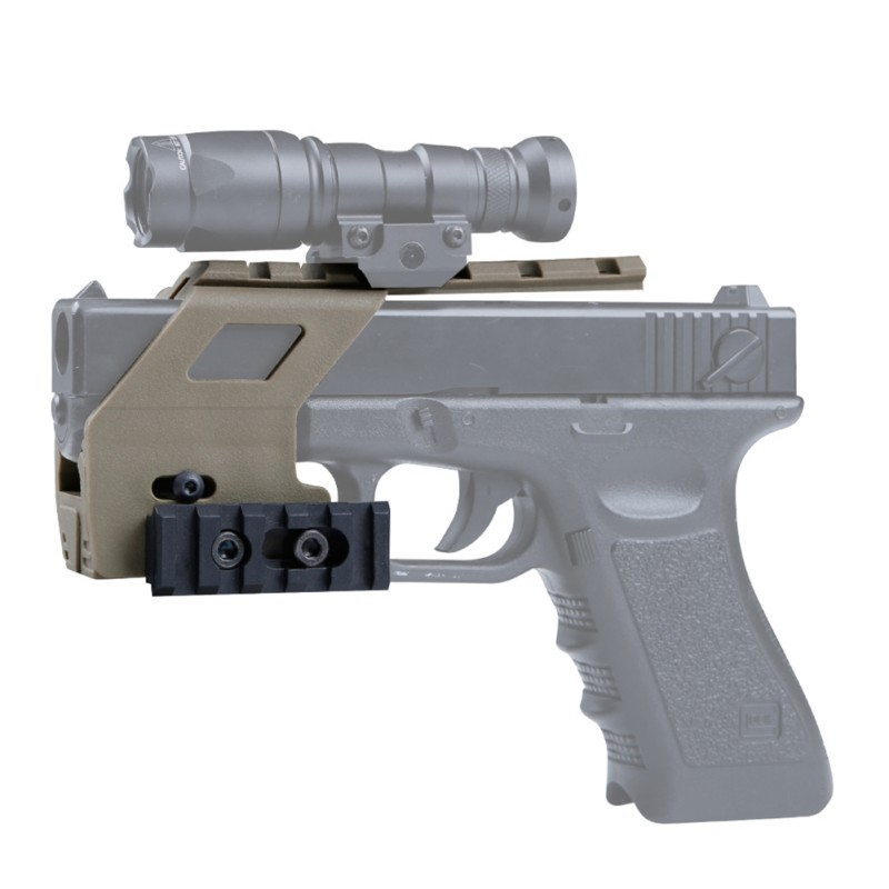 Tactical Pistol Carbine Kit Glock G Series Rail Base System For Glock 17 18 19 Airsoft Gun Rail Hunting Accessories