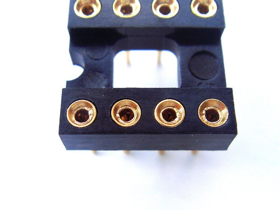 ( 10 Pcs/lot) DIP8 8 Pin Gold-Plated Socket,For OPAMP