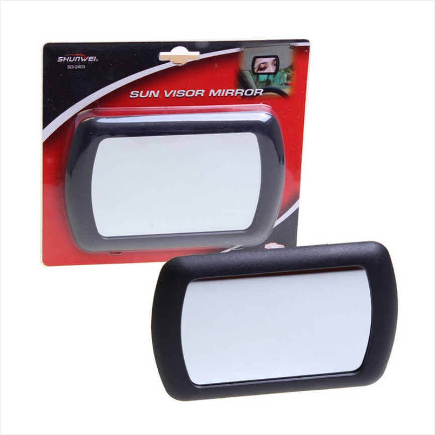 new large car makeup mirror car sun shading mirror car cosmetic mirror vanity mirror auto. Black Bedroom Furniture Sets. Home Design Ideas