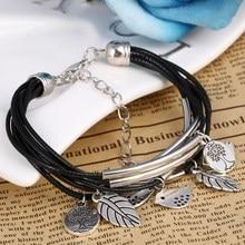 Birds Pendant Wrist Bracelet