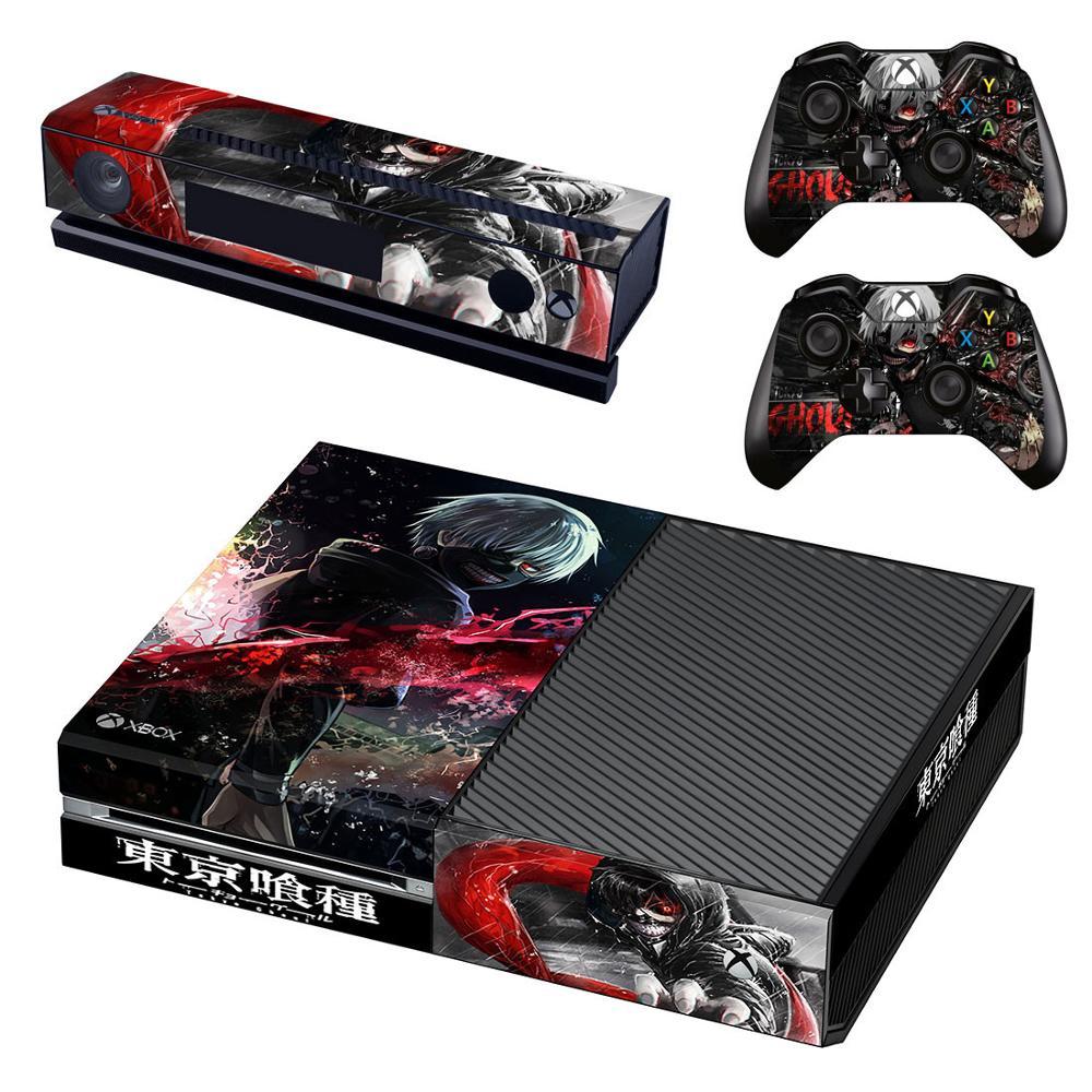 Tokyo Ghoul Xboxone Adesivo de Pele adesivo vinilo pegatina adesivos para Xbox One Console & Kinect & Dois Controlador Skins