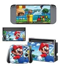 Super Mario Skin Sticker For Nintendo Switch Console Controller