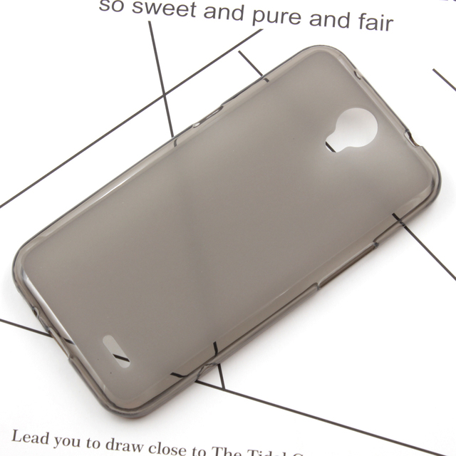 5Pcs/Lot BOGVED Ultra Thin Soft Silicone Gel TPU Protect Skin Back Case Cover For ZTE Prestige 2 N9136
