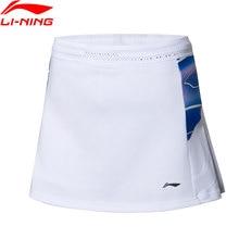 Li-Ning/Женская соревновательная юбка для бадминтона, национальная команда на сухой основе с подкладкой на шнурке, мини-юбка ASKP072 CAMJ19