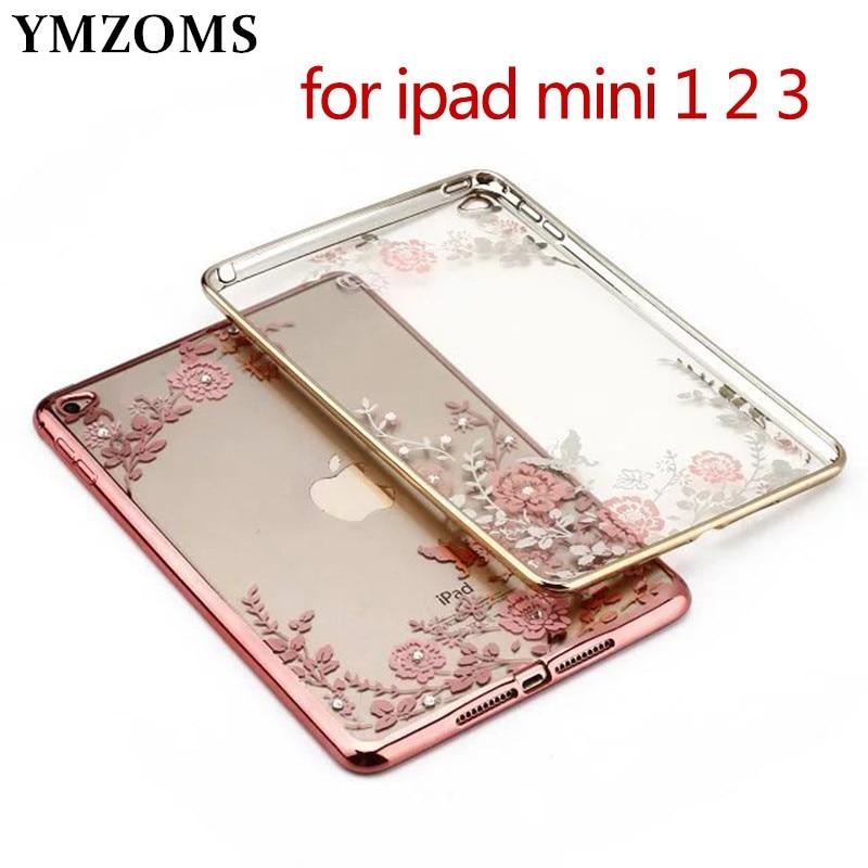 Luxury Soft Silicone Gel Rubber TPU Skin Case Cover For Apple iPad mini 1 2 3 Tablets Accessories for ipad mini 2 mini 3