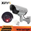 Xinfi Fake camera AA Battery powered indoor outoodr Dummy security camera Bullet cctv camera surveillance camaras