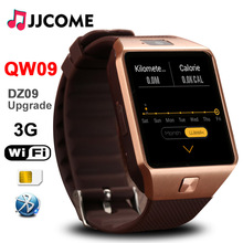 все цены на QW09 Bluetooth Smart Watch Sport DZ09 Upgrade OLED 3G Wifi 4GB ROM 512MB RAM Smartwatch Fitness Bracelet For Android Men Watch онлайн
