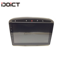 IDOICT Android 8.1 Car DVD Player GPS Navigation Multimedia For peugeot 308 408 Radio 2009 2014 car Stereo Head Unit
