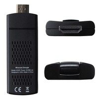 A2W II External Wireless WiFi Display Dongle Receiver 1080P HDMI DLNA Airplay Miracast for SmartPhone Tablet PC to HDTV