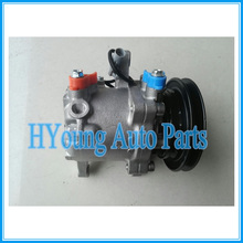 ФОТО sv07e 120mm 12v 1pk air conditioning compressor for daihatsu kubota 447220-6771 447220-6750 4472206771 3c581-97590 l150sgpvf