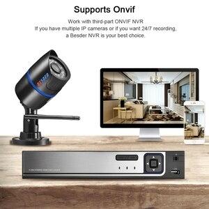 Image 4 - BESDER caméra de sécurité sans fil Ip 1080P, avec Audio, boucle deau, Onvif, noir, avec fente pour carte SD, ICSee P2P IPC
