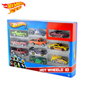 Hot Wheels 1:64 Mini Model track ESS BSC 10 Car Pack Toys For Children Diecast Hotwheels 54886 Car Models Birthday Gift For Kid