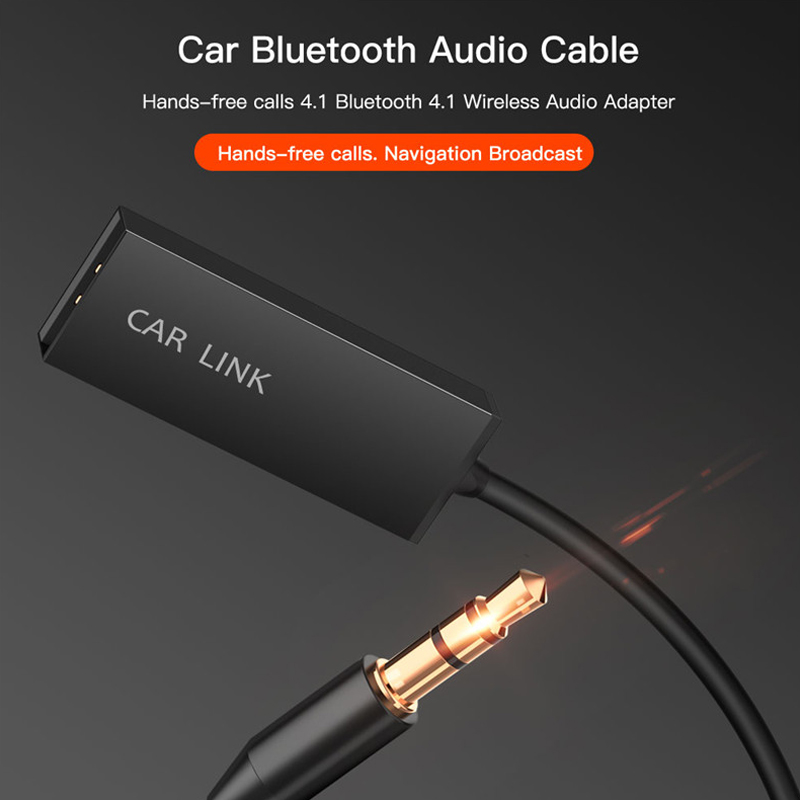 Wireless Bluetooth V4.1 Receiver 3.5 Stereo Aux Audio Music Wireless Receptor For Car Speaker Earphone