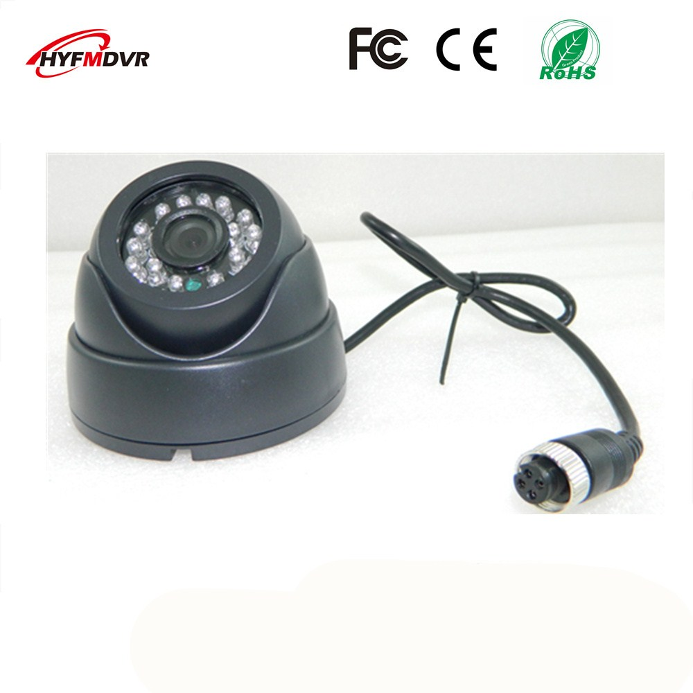 ahd1080p 720p 960p semi elliptical infrared night vision monitor head metal shell 12v wide voltage sony 600tvl taxi camera CMOS / SONY 600TVL 3 inch dome monitor head plastic case with built-in infrared AHD1080P/720P/960P refrigerated camera