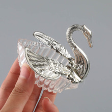 24pcs Elegant Romantic Swan Favours Candy Boxes Wedding Favour Gift Box Free Shipping