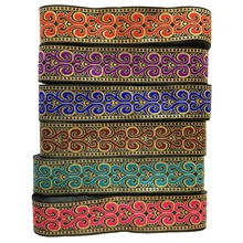 ZERZEEMOOY 33MM 9YARD/LOTS Six Color DIY Handmade Accessories Heart Totem Woven Jacquard Ribbon MZZD19041901