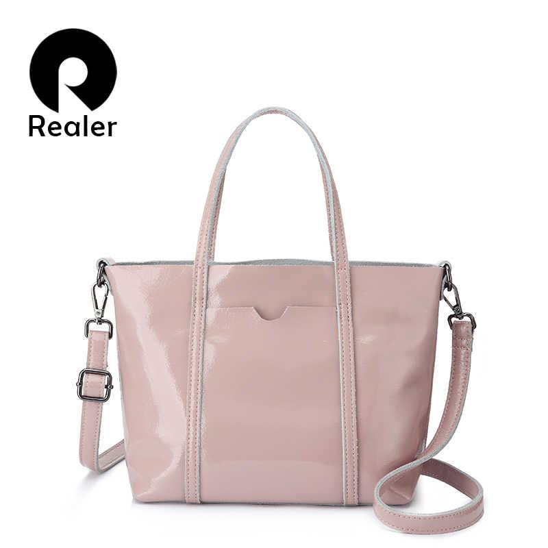 REALER women handbags crossbody shoulder bags female fashion leather totes  large ladies top-handle bags 55ecf43eae96b