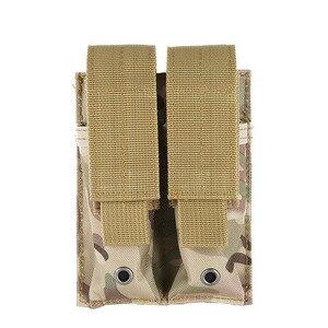 Image 4 - Mới Không Khí Ngoài Trời Súng Bao Tác Chiến Quân Sự Săn Bắn Túi 600D Nylon Molle 2 tay Súng Túi Đóng Bao da thiết thực