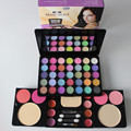 2016 New fashion 35 eye shadow Set 8 lipstick 4 blush 2 powder Pigment Eyeshadow Palette Cosmetic Makeup Eye Shadow