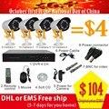 2016 НОВЫЙ CCTV камеры системы Комплект Улучшенный Ночного Видения Видеонаблюдения Камеры Безопасности Системы