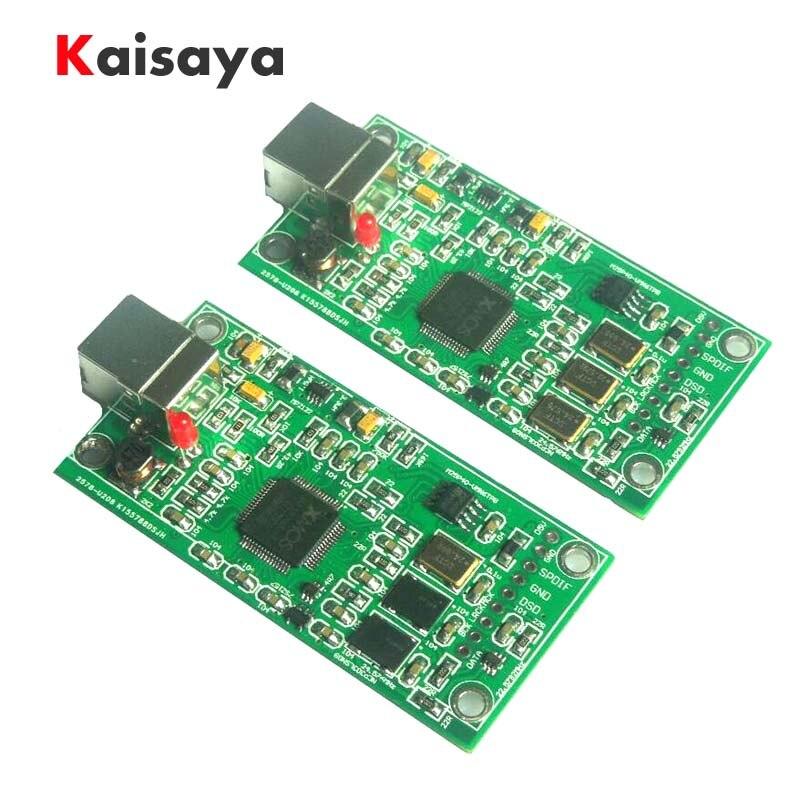 2018 nouveau XMOS XU208 USB 384 K 32B module I2S sortie SPDIF, soutien DSD pour es9018 ES9028 ES9038PRO DAC hifi amplificateur A6-013